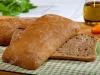 """Итальянский хлеб """"Чиабатта"""" темная"""